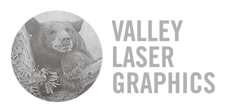 Valley Laser Graphics logo