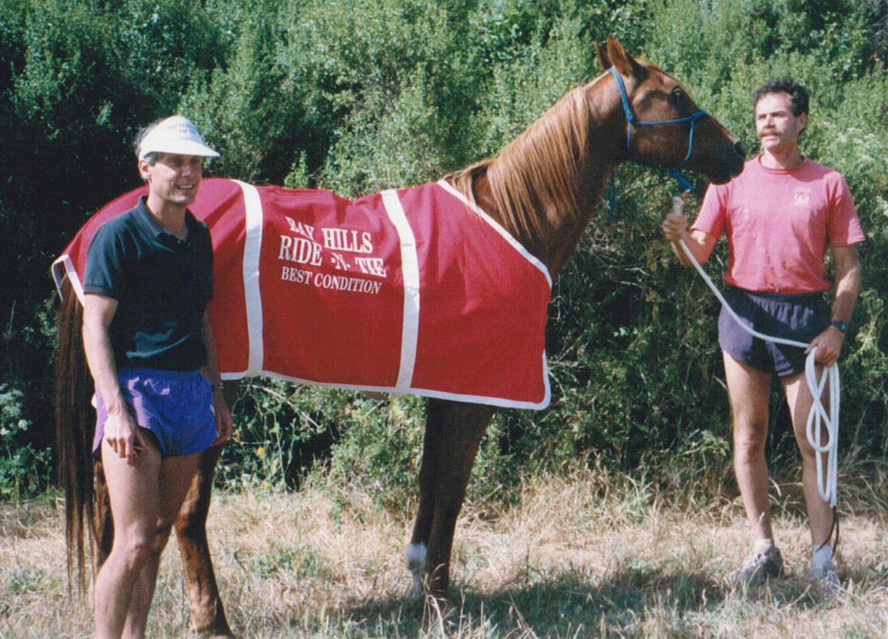 Image of the Bay Hills Ride & Tie horse winner of Best Condition.