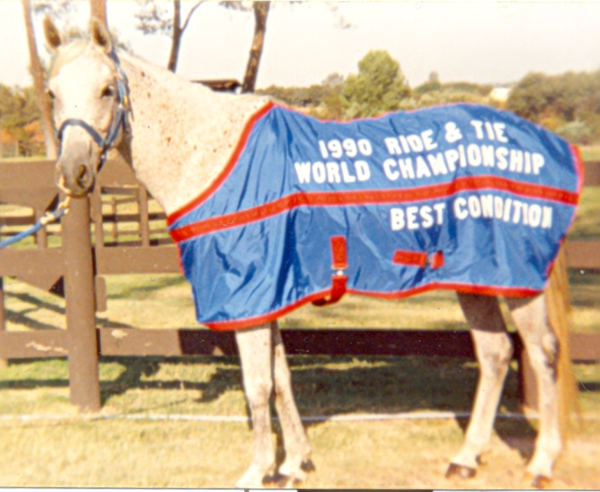 Image of the 1990 Ride & Tie World Championship horse winner of Best Condition.